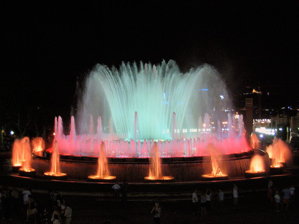 Les fontaines magiques de Barcelone