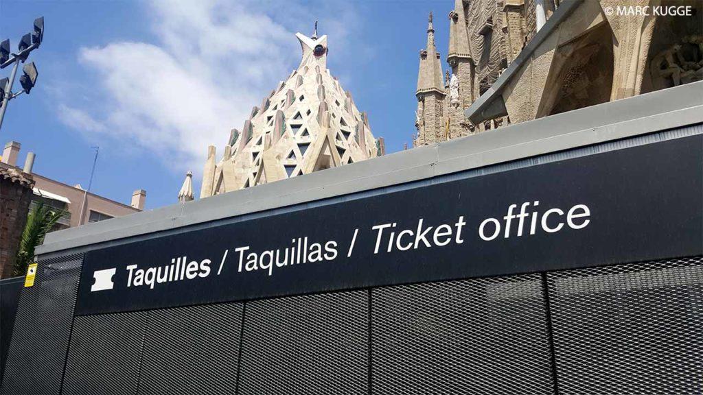 Tarifs, prix et billets pour la Sagrada Familia