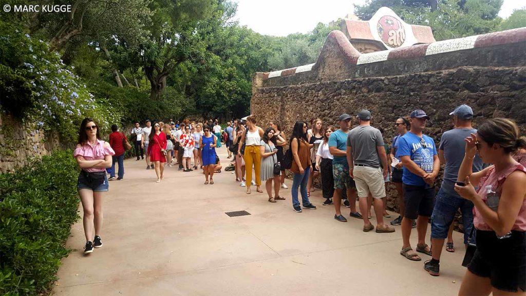 Horaires d'ouverture du parc Güell